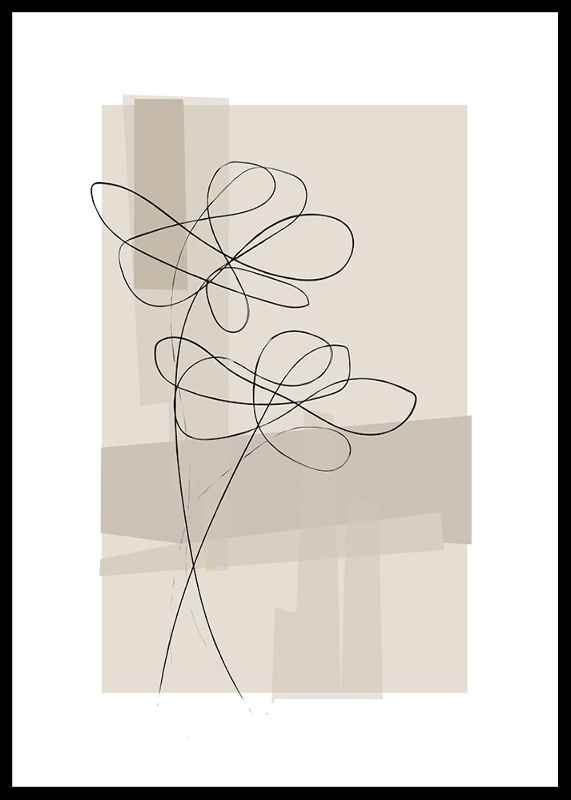 Abstract Flower No1-0