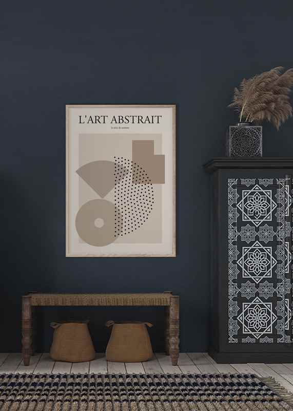 L'art Abstrait No1-2