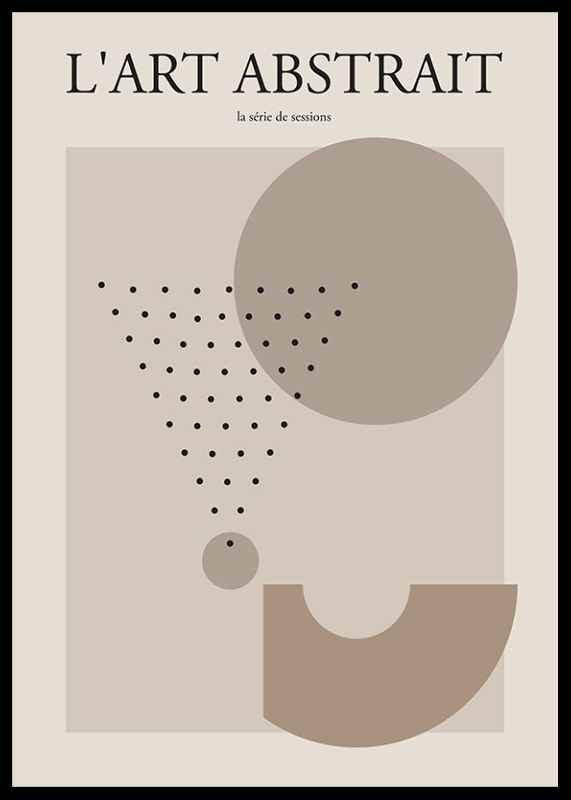 L'art Abstrait No3-0