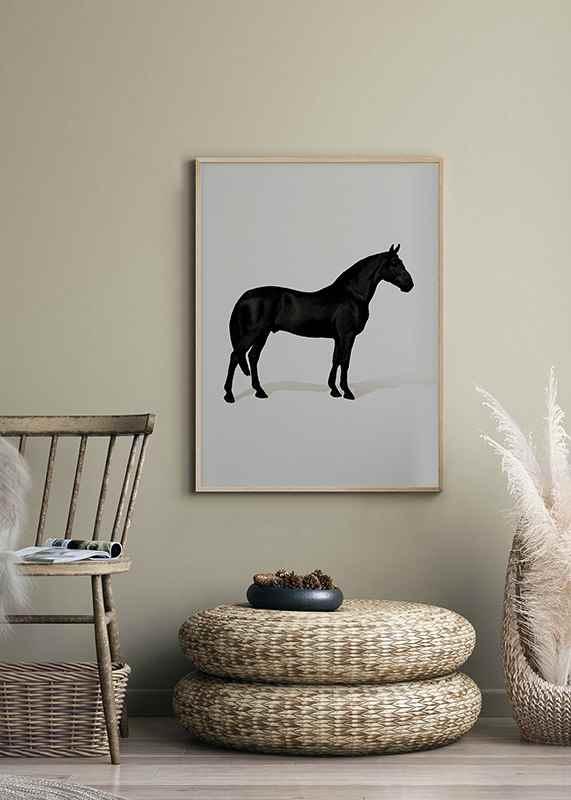 Black Horse Port. Drawing-2