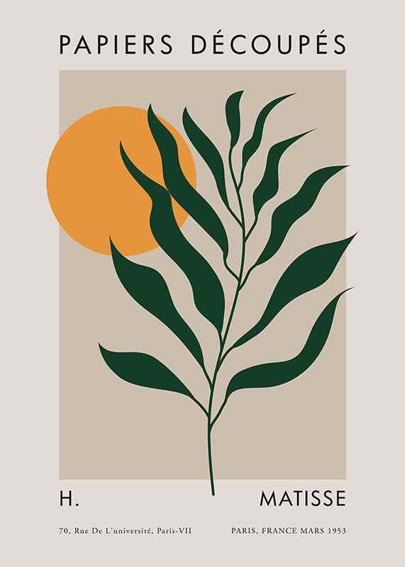 Matisse Cutout Green-1