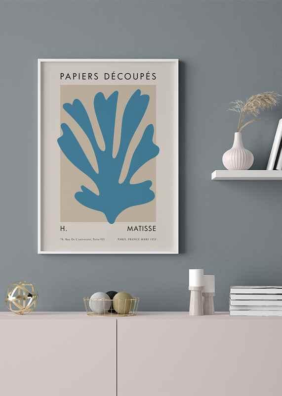 Matisse Cutout Blue-2