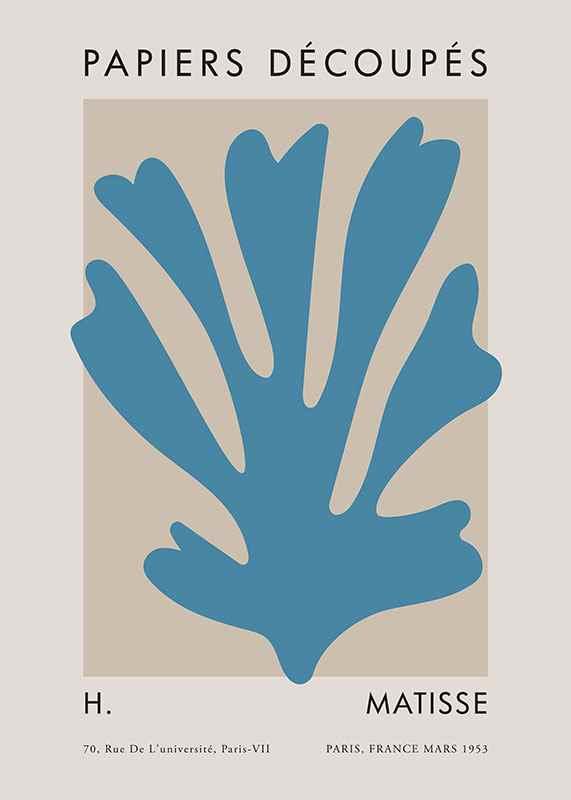 Matisse Cutout Blue-1