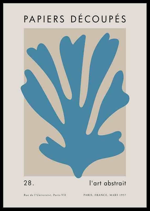 Matisse Cutout Blue-0