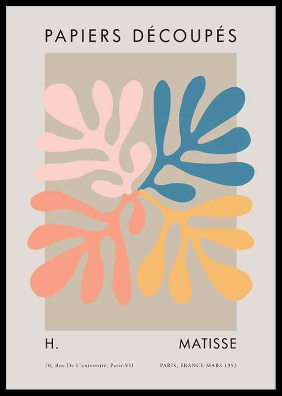 Matisse Cutout Colors