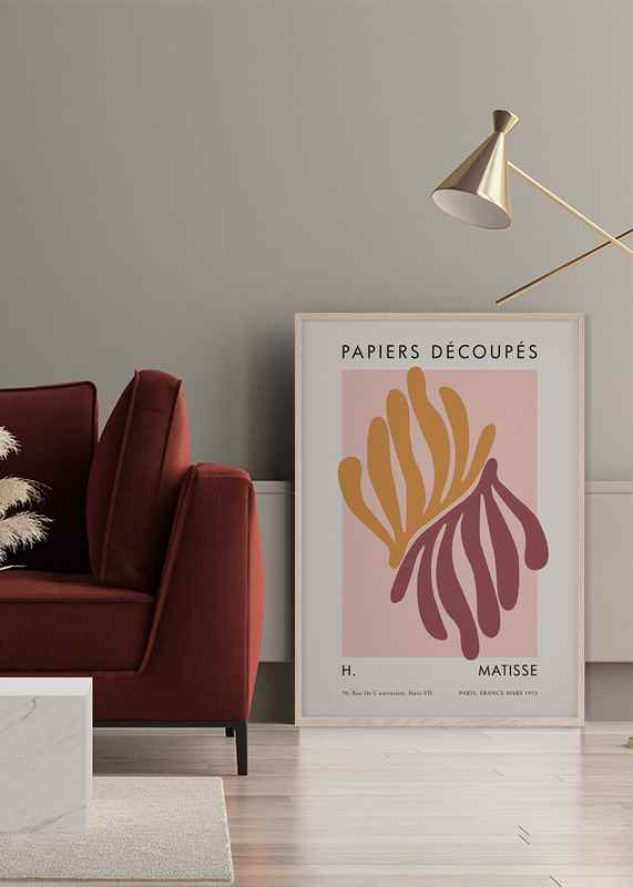 Matisse Cutout Coral-2