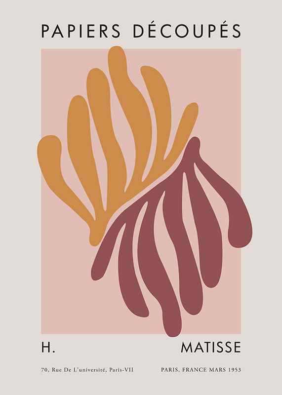 Matisse Cutout Coral-1