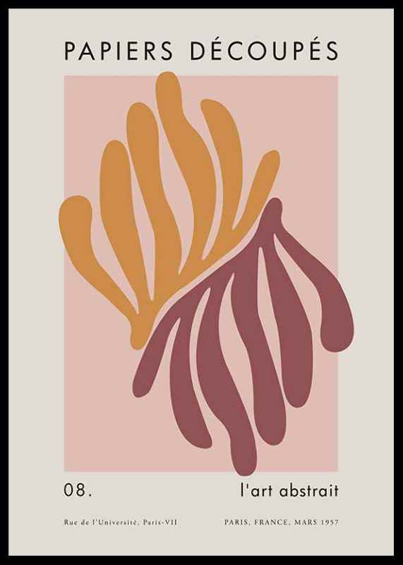 Matisse Cutout Coral