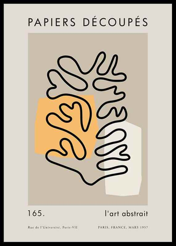 Matisse Cutout Line-0