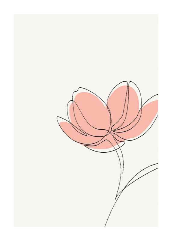 Cutout Flower No2-1