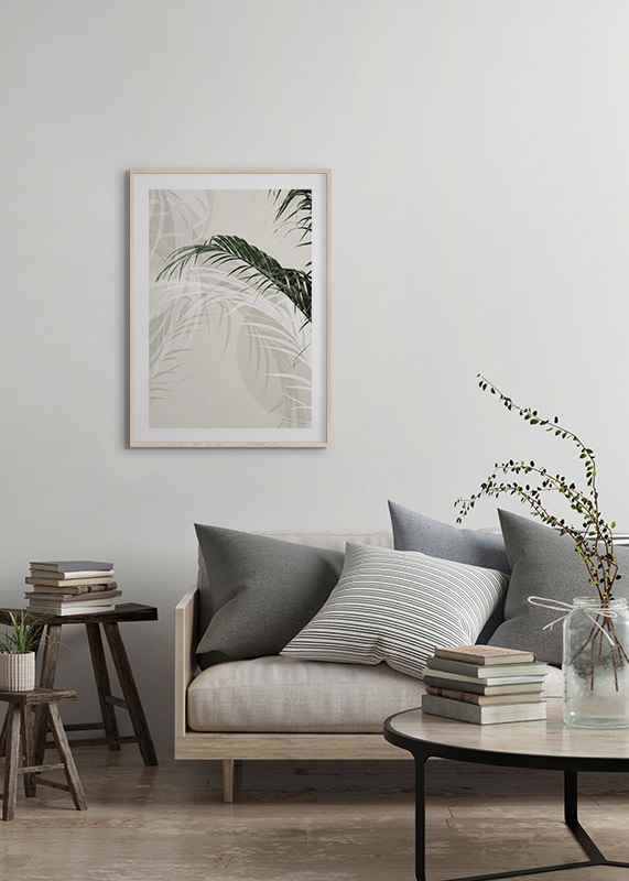 Abstract Palm Leaves No1-4