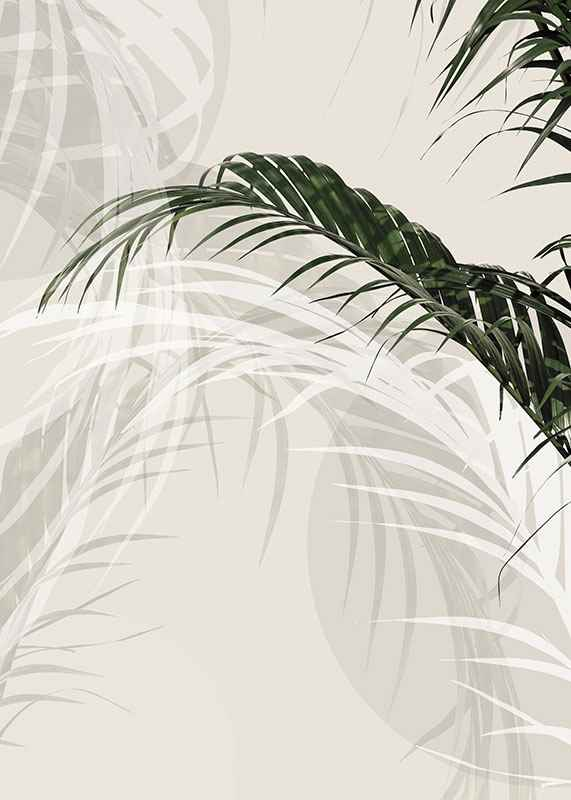 Abstract Palm Leaves No1-3