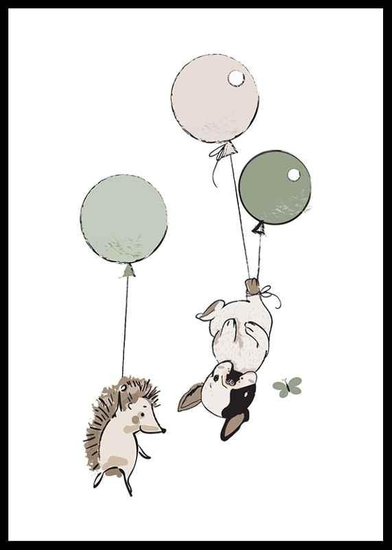 Animals And Balloons No2