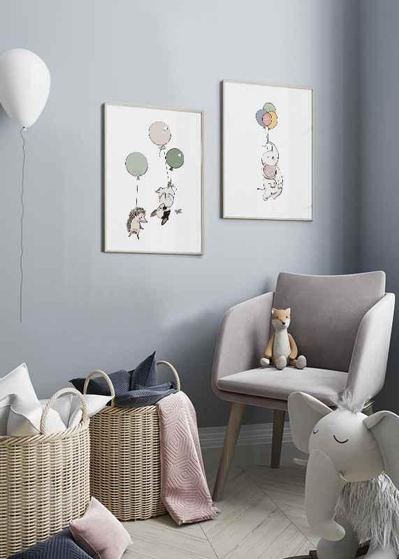 Animals And Balloons No2-2