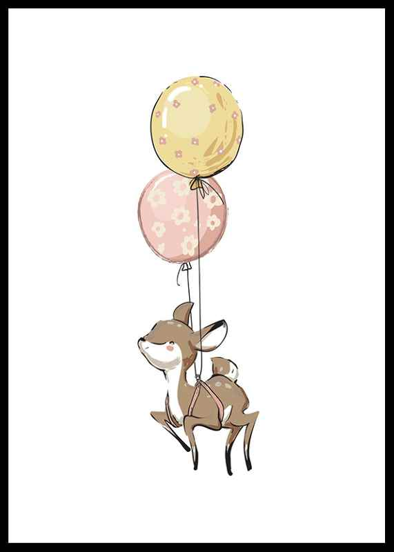 Animals And Balloons No5-0