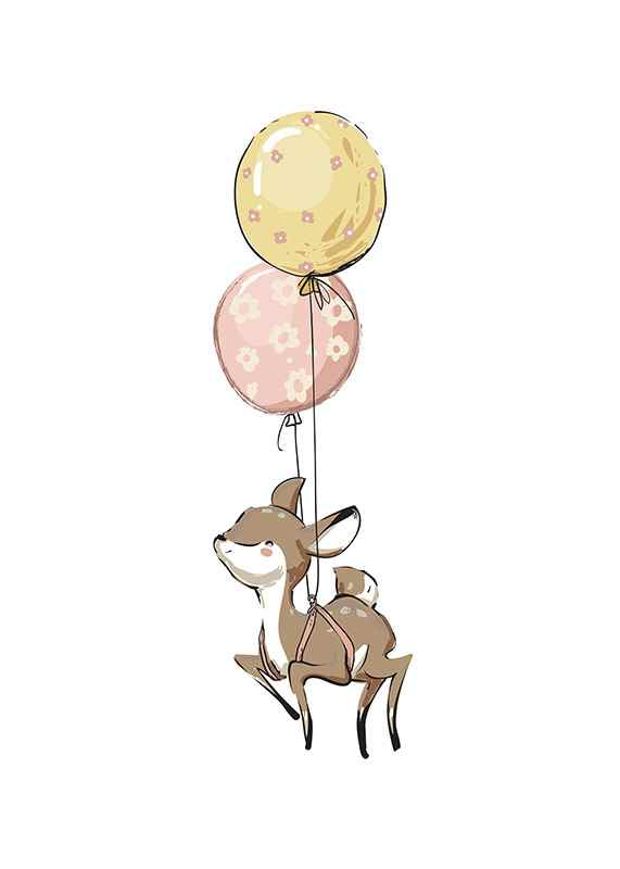Animals And Balloons No5-1