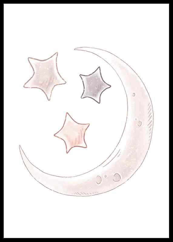 Moon And Stars-2
