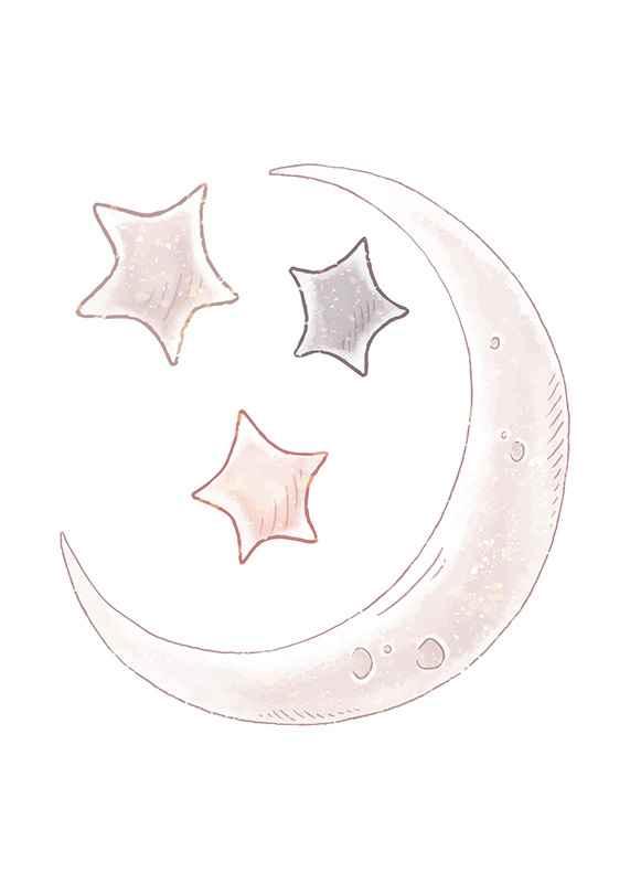 Moon And Stars-3
