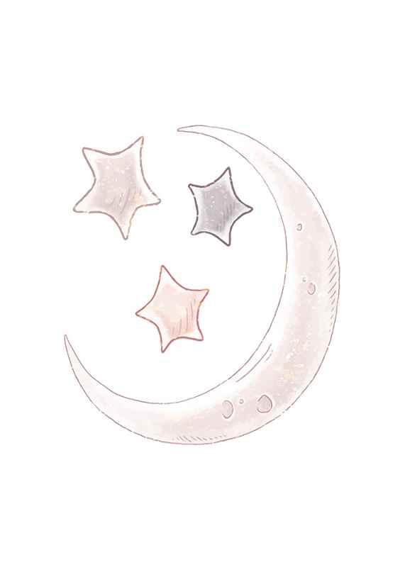 Moon And Stars-1