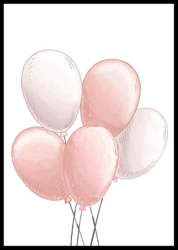 Pink Balloons-0