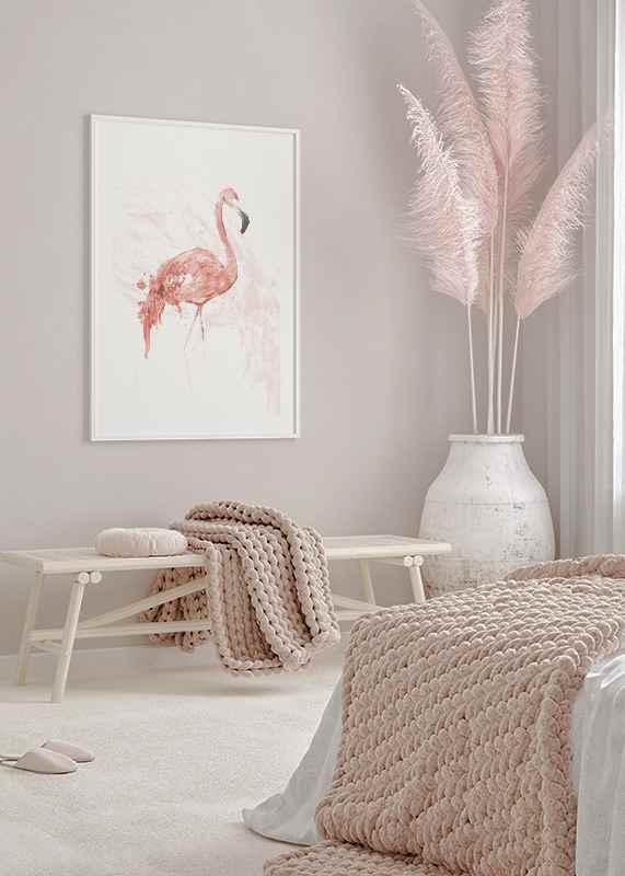 Watercolor Flamingo-4
