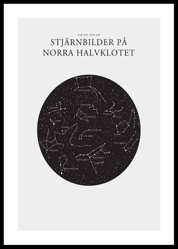 Stjärnbilder På Norra Halvklotet-0