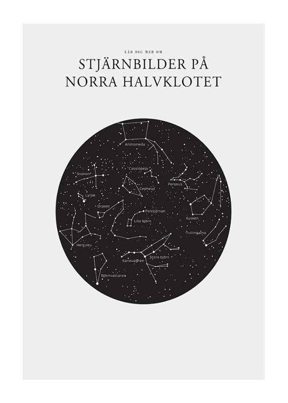 Stjärnbilder På Norra Halvklotet-1