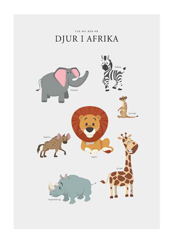 Djur I Afrika-1