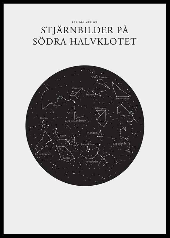 Stjärnbilder På Södra Halvklotet-2