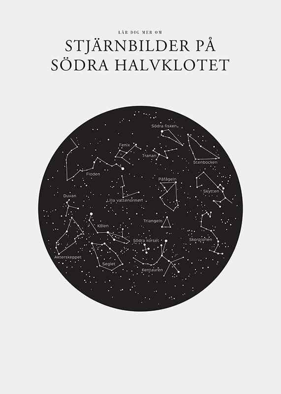 Stjärnbilder På Södra Halvklotet-3