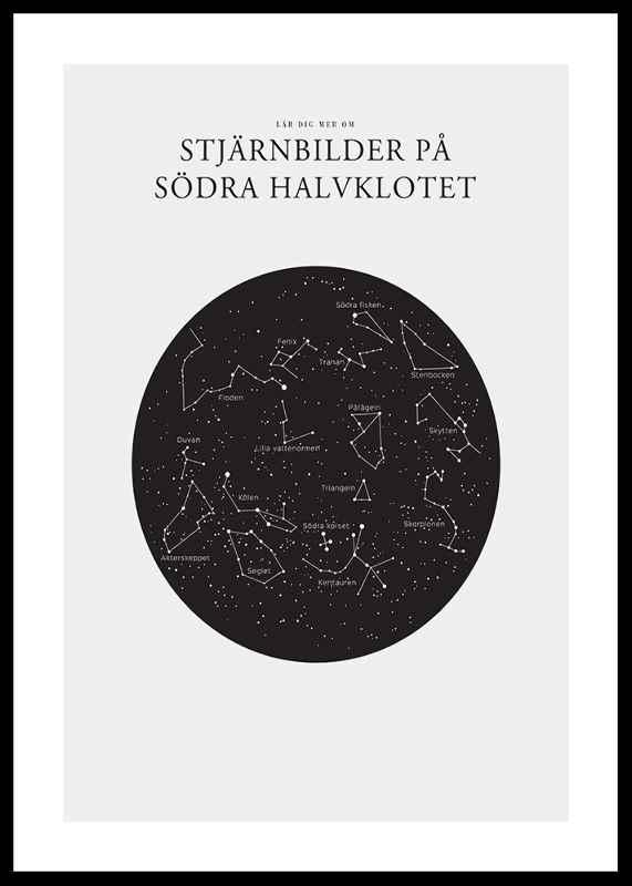 Stjärnbilder På Södra Halvklotet