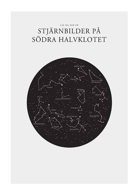 Stjärnbilder På Södra Halvklotet-1