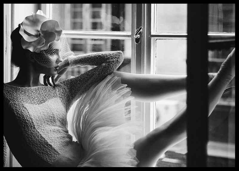 Woman In Window BW-2
