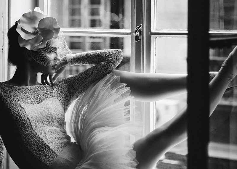 Woman In Window BW-3