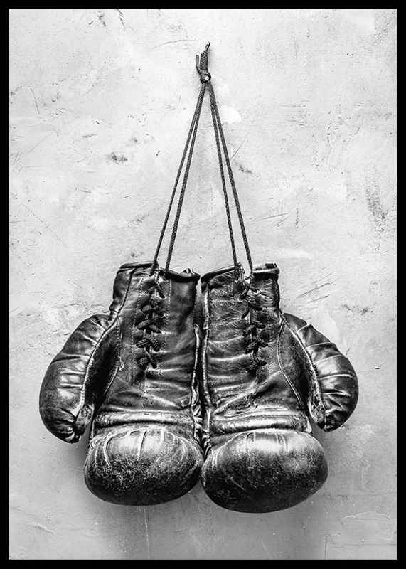 Worn Boxing Gloves-2