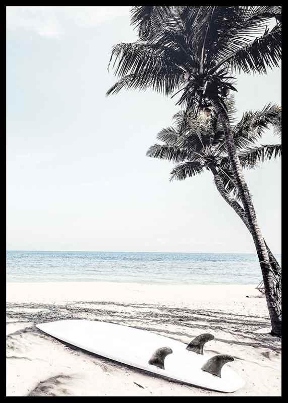 Surfboard On Beach-2