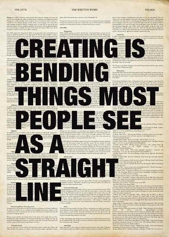 Creating Is Bending-1