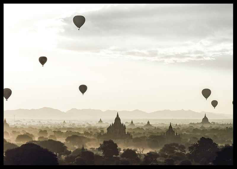 Air Balloons Over Tempel-2