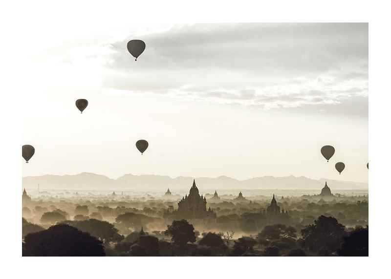Air Balloons Over Tempel-1