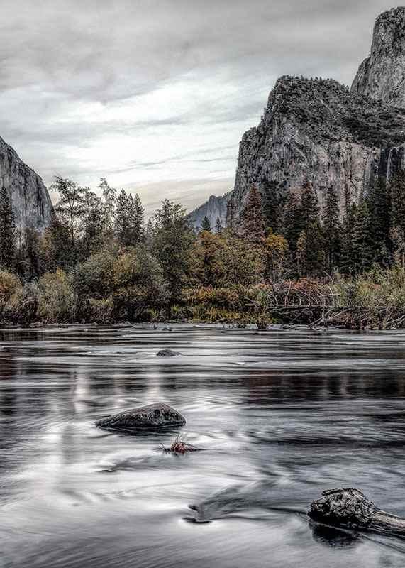 Yosemite River-3