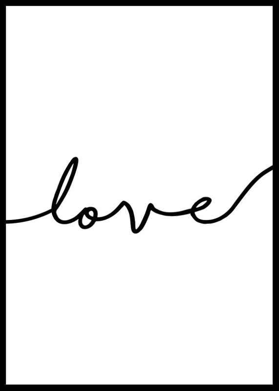 Love Line Art