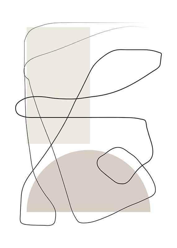 Art des Lignes No1-3