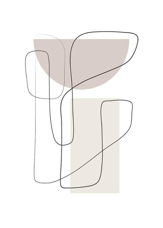 Art des Lignes No2-1