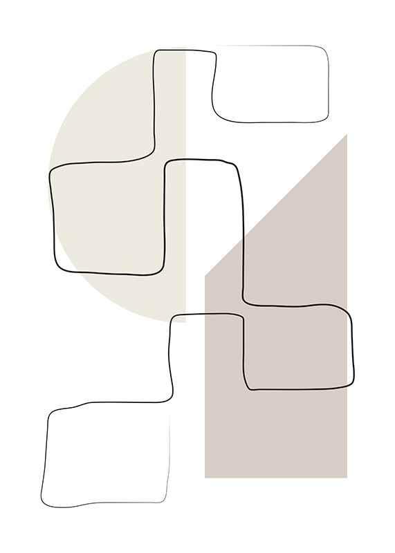 Art des Lignes No3-3