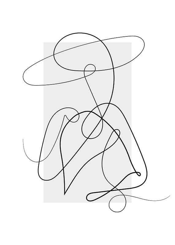 Shapes Line Art No4-1