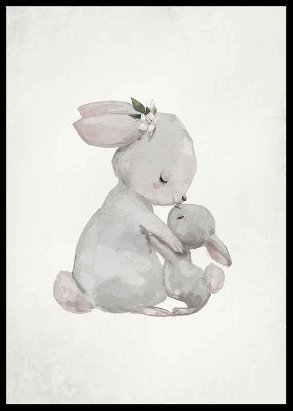 Watercolor Rabbits-2