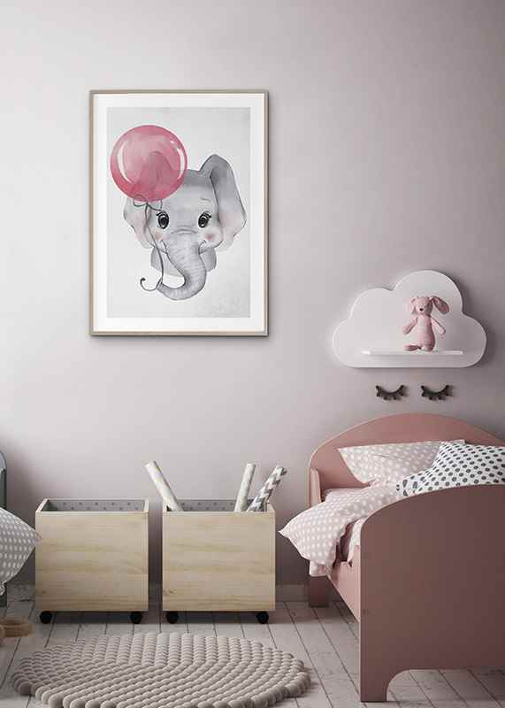 Elephant Pink Balloon-4