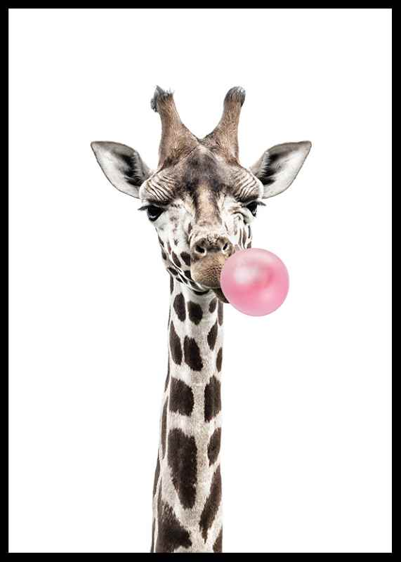 Bubblegum Giraffe-0