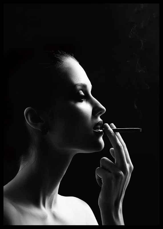 Smoking Woman-2