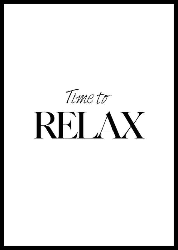 Time To Relax